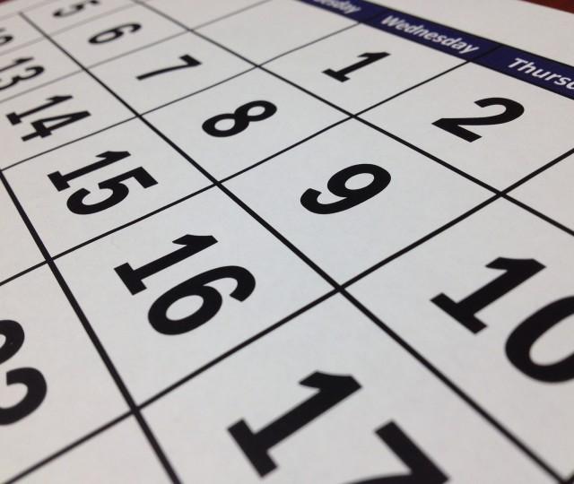 GMZ Service - calendar